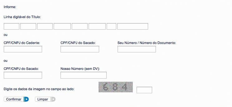 ), que é o número de identificação do título no Banco do Brasil